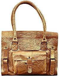 LE RIVE GAUCHE M Doré sac bandoulière cuir style vintage PAUL MARIUS