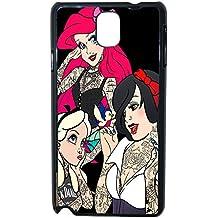 Lapinette COQUE-NOTE-3-TRI - Funda carcasa para Samsung Galaxy Note 3 diseño Princesa Disney Tatuada 2