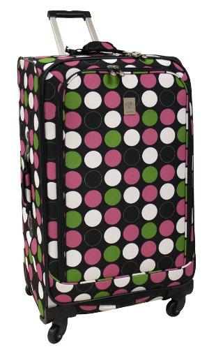 jenni-chan-360-quattro-28-inch-luggage-multi-dots-one-size