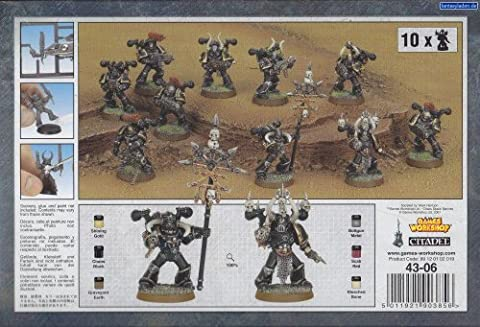 Trupp der Chaos Space Marines (Warhammer 40k Figuren)