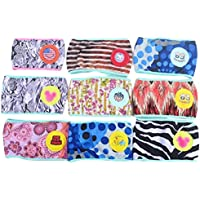 Pañales de protección contra la incontinencia lavables para mascotas, almohadillas para entrenamiento, color al azar