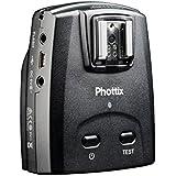 Phottix-89072 Déclencheur de flash à distance déclencheur + récepteur pour Canon Noir