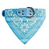 probeninmappx Hundeleine einstellbar Haustier Hundehalsband Schal Halstuch Halskette, Pink 56 * 3 cm