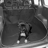 Livivo, tappetino per bagagliaio auto, resistente, impermeabile, 2 in 1, fodera per sedile posteriore, coperta per animali, cani e gatti