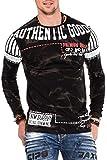 Cipo & Baxx Herren Sweatshirt Black Gr.M
