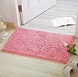 iado Tapis de bain absorbant et antidérapant Convient pour salon/cuisine/chambre à coucher Intérieur ou extérieur