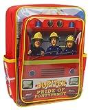 Trade Mark Collections SAM001014 - Mochila cuadrada, diseño de Sam el bombero