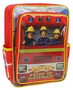 Sam El Bombero - Fireman Sam - Niños Mochila - Jupiter1 gran compartimento principal con cierre1 gran bolsillo con cremallera frontal2 bolsillos laterales pequeñascorreas de hombro acolchadas y ajustablesCaracterísticas especiales: doble carga ac...