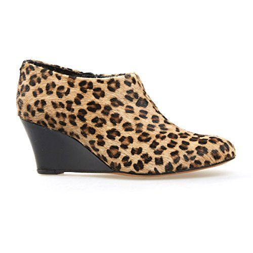Van Dal Shoes Womens Short Boot Beaufort in Cheetah Print   Black. c194058cc