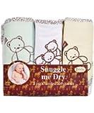 Teddy Bear - Set de serviettes de bain avec capuche - 3 pièces - Garçon ou fille- Frenchie Mini Couture