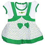 Little Life Baby Frock 100% Cotton in GR...