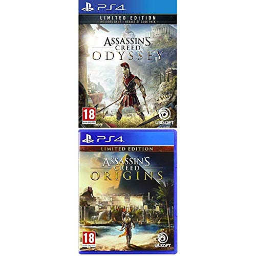 Assassin's Creed Odyssey + Assassin's Creed Origins [Esclusive Amazon] - PlayStation 4