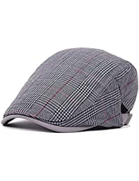 Ambysun Elegant Irish Duckbill Ivy Flat Cap Newsboy Gatsby Driver Hat