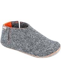 Lico Natural Filz Lady, Zapatillas de Estar por Casa para Mujer, Beige (Beige Beige), 39 EU