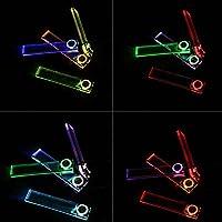 KKmoon Car Interior LED Atmosphere Lights Floor Lamp Decorative Lights