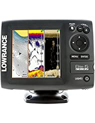 Lowrance Navigationsgerät Elite 5 Chirp Blank W/XD 50/200 455/800 - GPS marino, talla standard
