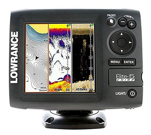 Lowrance Navigationsgerät Elite 5 Chirp Blank W/XD 50/200 455/800, 000-11654-001 (Gps Lowrance-5)