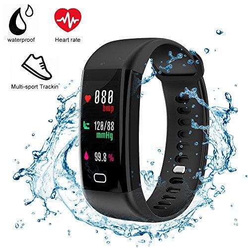 Gesundheitsversorgung ZuverläSsig Smart Armband Blutdruck Monitor Fitness Armband Bildschirm Oled Nachricht Herz Rate Zeit Smartband Digital Gesundheit Pflege Gerät