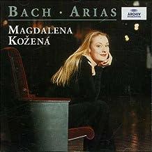 Bach : Arias - Magdalena Kozená