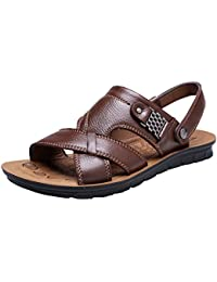 0a4b5767d1be Amazon.co.uk  Brown - Sandals   Men s Shoes  Shoes   Bags
