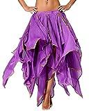 Zigeuner Kostüm Röcke Damen Faschings- und Karnevalsrock Lila