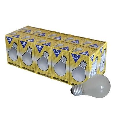 ORMALIGHT 10x AGL Standard Glühlampe 100W in matt E27 von ORMALIGHT auf Lampenhans.de