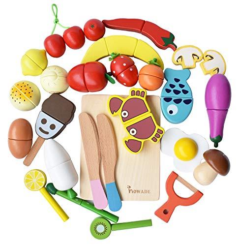 HOWADE Juego de Alimentos Play 30 Piezas