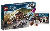 Lego Phantastische Tierwesen Newts Koffer der magischen Kreaturen (75952) Bauset (694 Teile) + Lego Harry Potter 30407 - Harry's Journey to Hogwarts