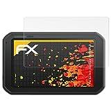 atFoliX Schutzfolie für Garmin dezlCam 785 LMT-D Displayschutzfolie - 3 x FX-Antireflex blendfreie Folie