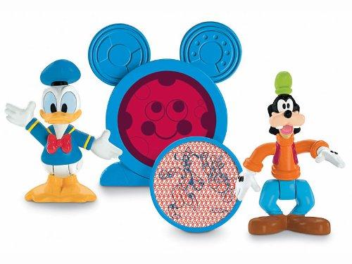 Mattel R9064 - Playhouse Disney - Micky Maus Wunderhaus - Spielfiguren Goofy und Donald