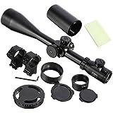 Ridgeyard ZOS 10-40x60 SFE IR SWAT Lunette de visée optique Mil Dot Lunette de tir tactique extrême avec support de 11mm