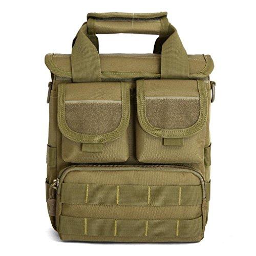 Männer und Frauen ACU Tarnhandtasche / praktisches taktisches Paket Militärmoles Angriffsbeutel / Wüste digitale Schulterbeutel Khaki