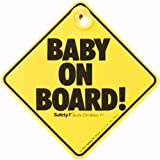 #10: Safety First Baby On Board (Yellow)