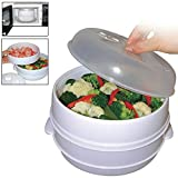 Top Home Solutions® 2 Tier Microwave Cooker Steamer - Best Reviews Guide