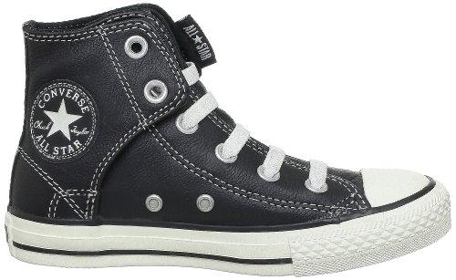 Converse Chuck Taylor Easy Sl Cuir, Sneaker Unisex - bambino Nero (Nero)