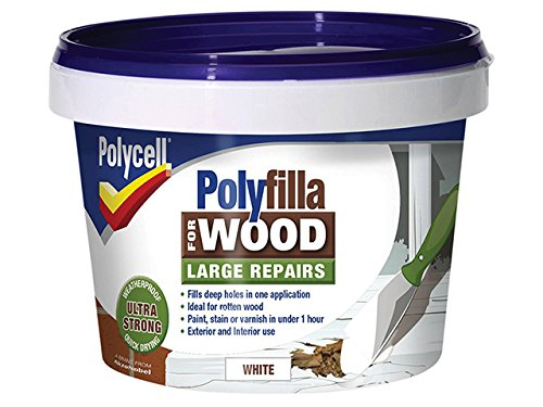 polycell-5207193-polyfilla-2-part-wood-filler-500-g-white-pack-of-2