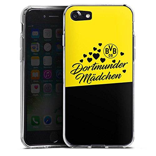 Apple iPhone 6 Plus Hülle Case Handyhülle BVB Borussia Dortmund Dortmunder Mädel Silikon Case transparent