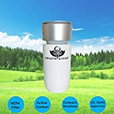 #9: HealthSingh® Car AIR PURIFER with HEPA Filter - Best in the Class HEPA Air Purifier for Car