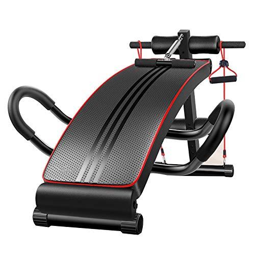 BF-DCGUN Bauchtrainer Sit Up Bank Einstellbare Trainingsbank Gym Übung Abnehmen Faltbare Fitnesstraining Ab Crunch (Ab Crunch Und Sit Up Bank)