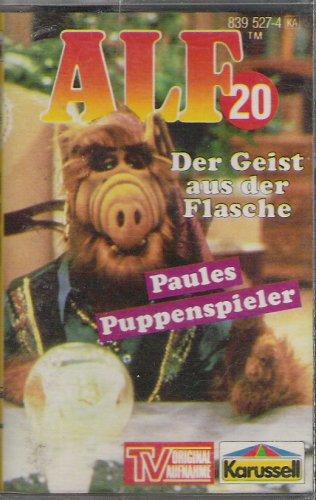 Alf Nr. 20 - Der Geist aus der Flasche + Paules Puppenspieler Original Hörspiel zur TV-Serie [Musikkassette]