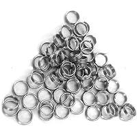 Molle ad anello in argento per freccette in metallo,  30 pezzi, confezione da 10, per fusto - Anello Dart
