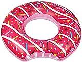 com-four® Pneumatico Galleggiante Gonfiabile in Design Trendy Donut - Anello di Nuoto per Bambini e Adulti [Selezione Varia] (1 Pezzo - Ciambella)