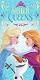 Frozen - Telo da Mare Sister Queens (Kids Euroswan WD15019)