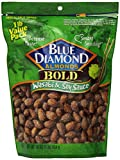 Blue Diamond Mandeln Kühner Wasabi & Soja-Sauce – 453 Gramm Beutel (3er paket)