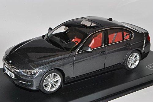 Preisvergleich Produktbild BMW 3er F30 Mineral Grau Limousine Ab 2012 1/18 Jadi Modell Auto mit individiuellem Wunschkennzeichen