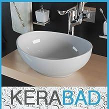 Aufsatzwaschbecken oval mit unterschrank  Suchergebnis auf Amazon.de für: Rundes weißes Keramik Waschbecken