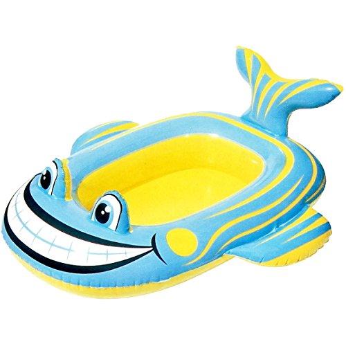 Promobo barca gonfiabile per bambini decorativo animale forma pesce