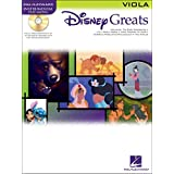 Disney Greats: Viola - Partituras, CD