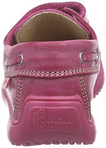 Naturino NATURINO 4110, Mocassins (loafers) garçon Pink (VIT.CERATO SPAZZ. FUXIA)
