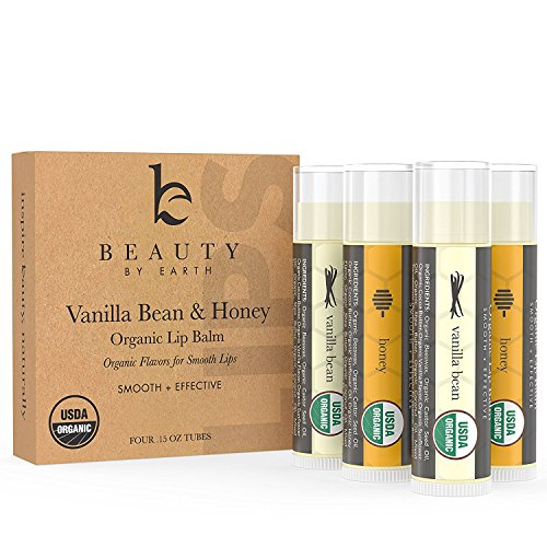 Lip Balm - Beauty by Earth Lip Care Vanilla Bean &...